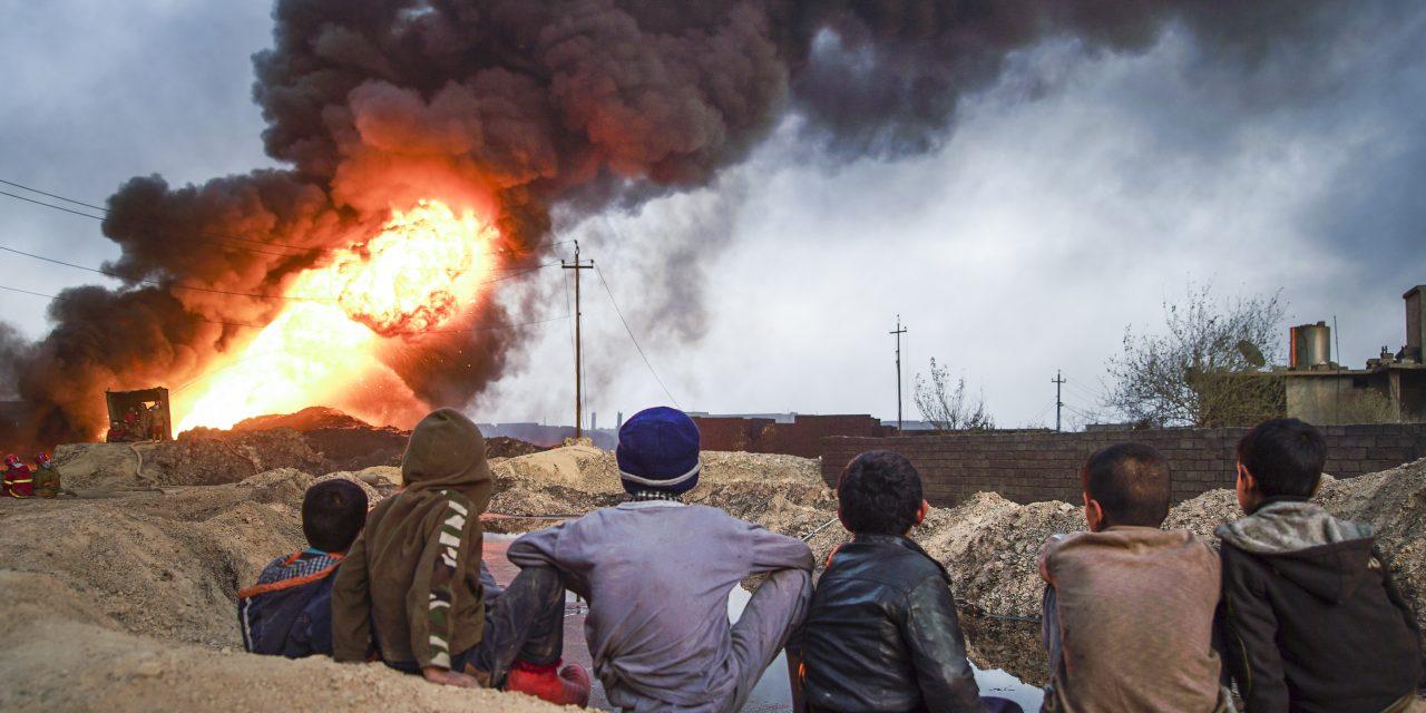 Civilian Deaths Surging In Iraq's West Mosul Invasion