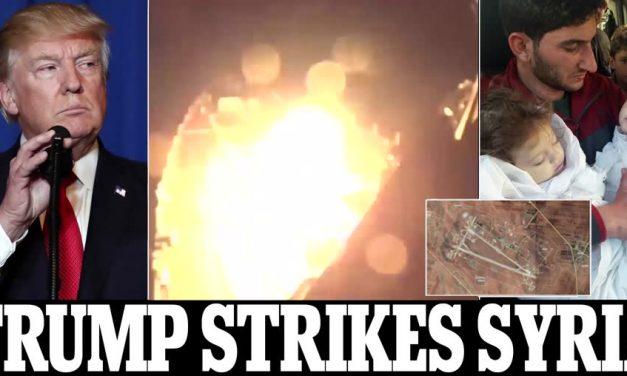 Syrian Media:  U.S Air Strike On Syria Kills Four Children