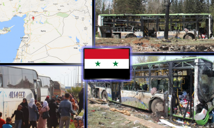 Syrian Rebels Bomb Evacuation Bus In Idlib, MSM Silent