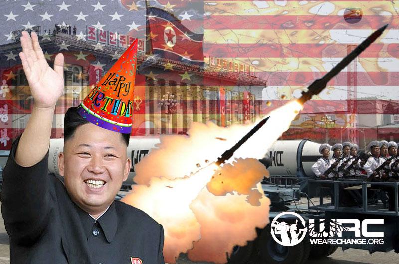 North Korean Birthday Celebration Video Shows Missiles Hitting U.S. Cities