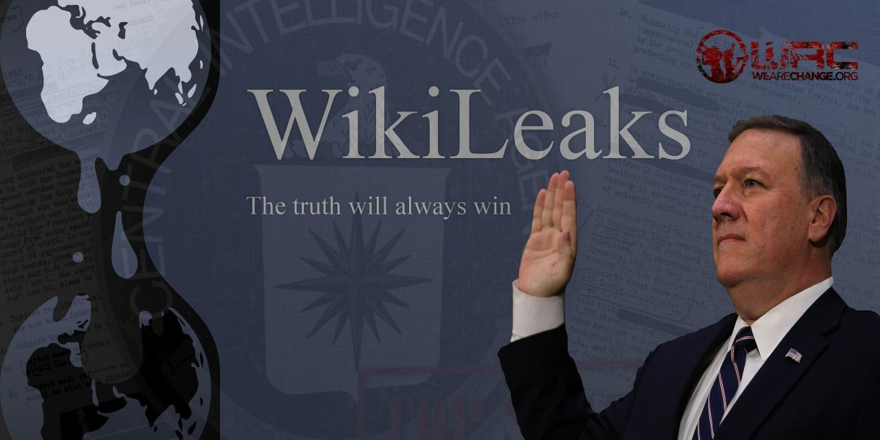 "CIA Director Pompeo Calls WikiLeaks a ""Non-State Hostile Intelligence Service"""