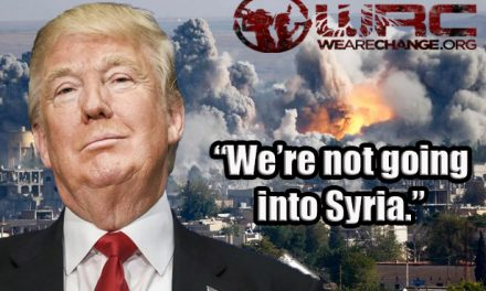 President Trump Says 'We're Not Going Into Syria' Even Though U.S. Troops Are Already There