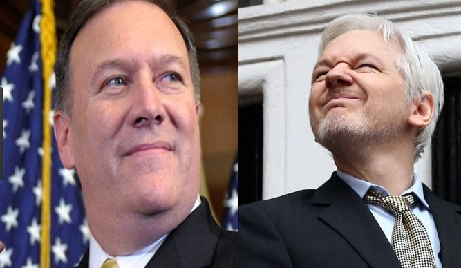 Image result for mike pompeo wikileaks