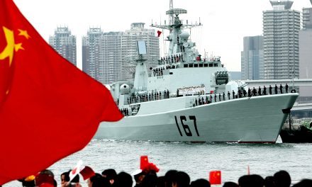 Chinese Navy Possibly Testing Missiles Near North Korea