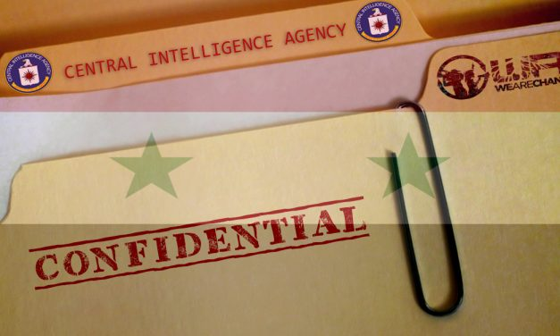 CIA Documents Reveal Plans To Oust Syrian President Assad And Destroy Syria For Oil Pipeline
