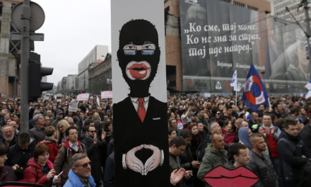 MEDIA BLACKOUT: Massive Serbian Protest Against Electoral Corruption Thousands Strong