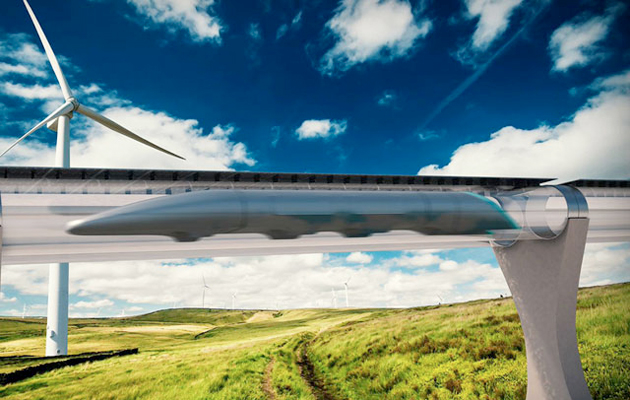 Construction of Revolutionary Hyperloop Transportation System Begins