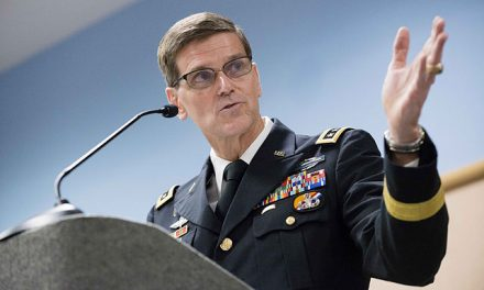 Top U.S. General Urges 'Military Means' Against Iran