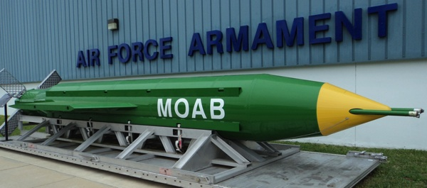 BREAKING: U.S. Drops 'Mother Of All Bombs' In Afghanistan