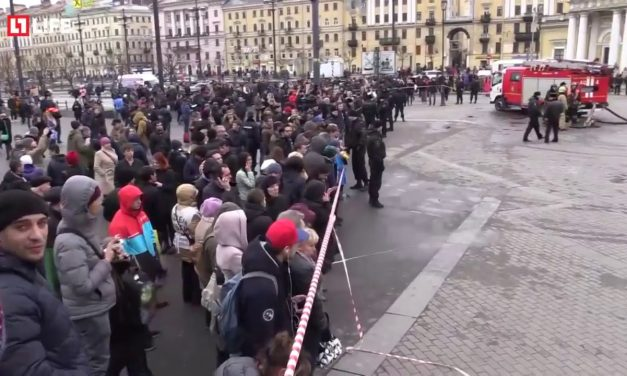 Several Reported Dead in Russia After Bombing In St. Petersburg