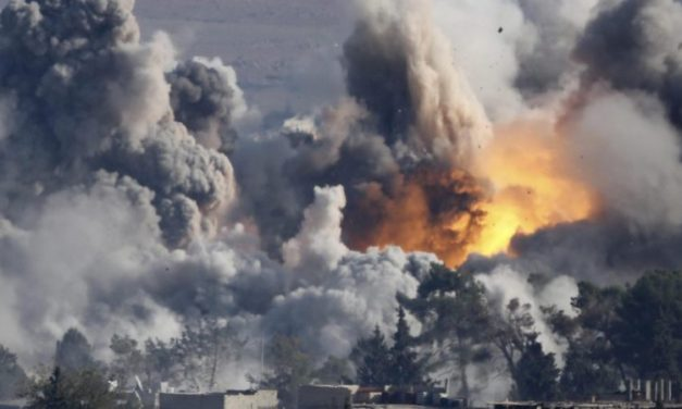DEVELOPING: Multiple Reports U.S. Airstrikes Being Carried Out On Syria