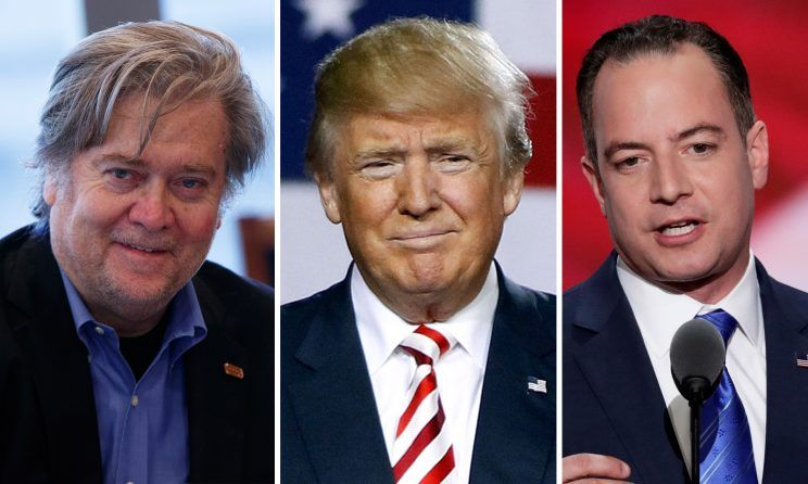 REPORT: Trump Considering Firing Reince Priebus And Steve Bannon