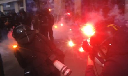 VIDEO: MORTAR EXPLODING ON ME: PARIS FRANCE MAY DAY