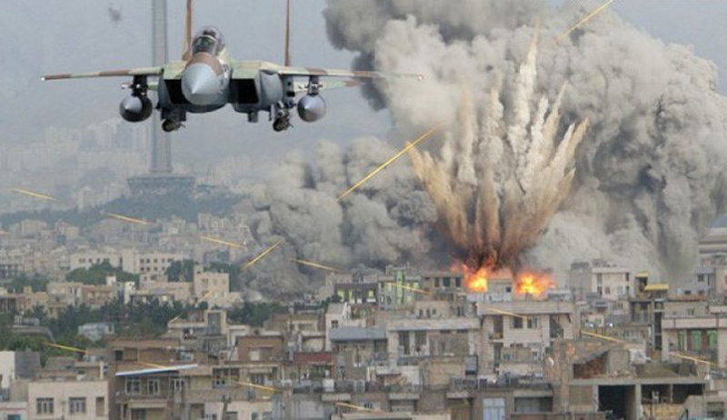 US-led air strikes killed record number of civilians in Syria