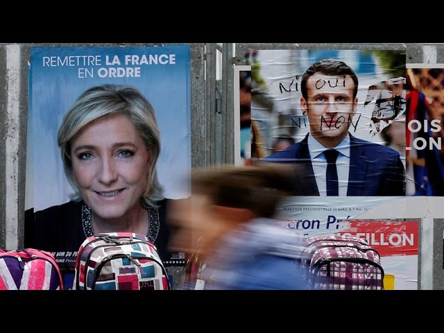 VIDEO:  FRANCE ON EDGE- PRESIDENT 'ROTHSCHILD' & JOURNALISTS CHASED FROM PROTEST