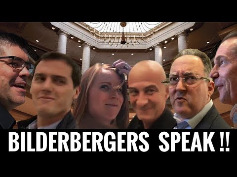 VIDEO: Bilderberg Group Members ACTUALLY SPEAK On The Record !!!