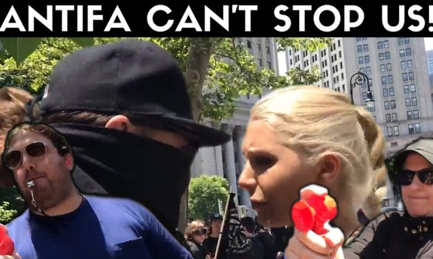 VIDEO: Getting Punched and Pissed on with Lauren Southern At Counter Protest