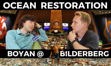 VIDEO: Exclusive Interview with Youngest Bilderberg Attendee Ever- Boyan Slat of Ocean Cleanup