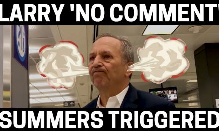 VIDEO: Globalist Banker Larry Summers REALLY Does Not Like Bilderberg Question