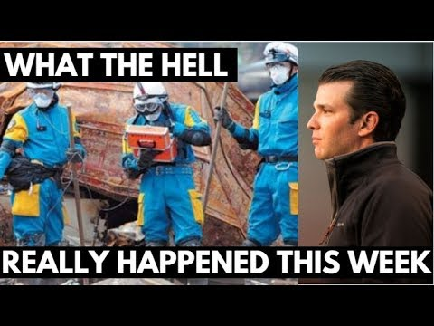 Video: Donald Trump Junior In Hot Water As Fukushima Spills Into The Pacific Ocean