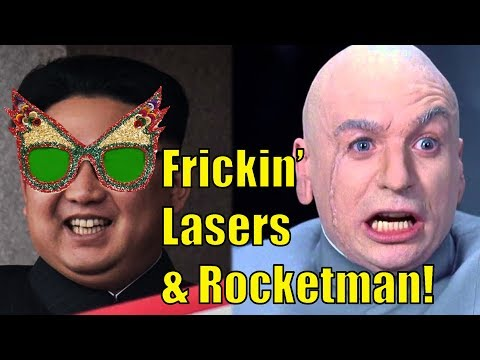 Rocketman and Frickin' Lasers!