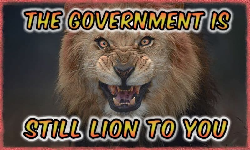 The Government Is Still Lion to You – 3 Proven Paradigm Shifts in October