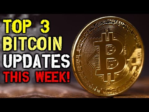 Cryptocurrency Weekly Wrap Up – Top 3 Bitcoin Updates You Should Know About THIS WEEK!