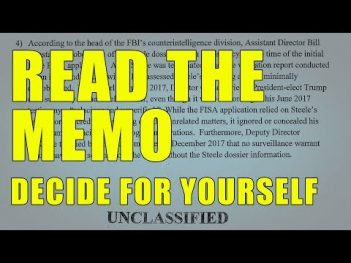 Stop Being a Sheep! Read the Memo and Decide for Yourself