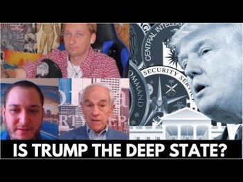 Ron Paul On Donald Trump and The Deep State