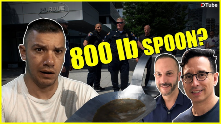 These Guys Did The Best Thing Ever With An 800lb SPOON!