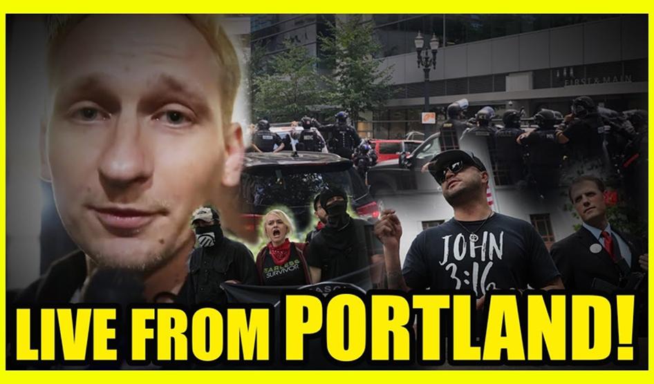 Portland Antifa Vs Proud Boys