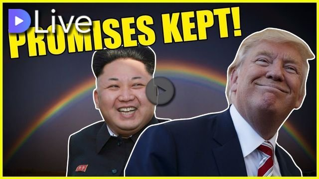 Huge Win For Trump As North Korea Keeps Its Promises