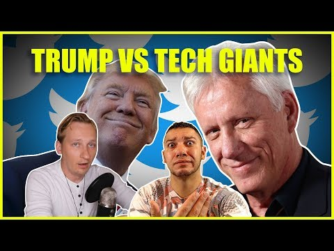 As James Woods Is Suspended From Twitter, Will Trump Take On The Tech Giants?