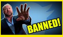 Breaking News! Alex Jones Permanently Banned From Twitter!