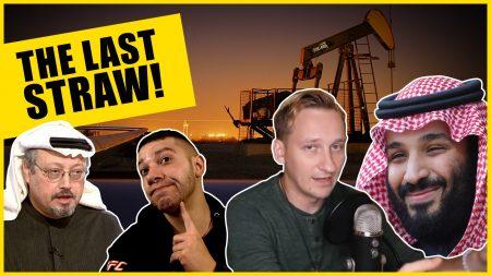 WRC Cast 19 – Is Saudi Arabia Going Down? Antifa And The Proud Boys Clash!