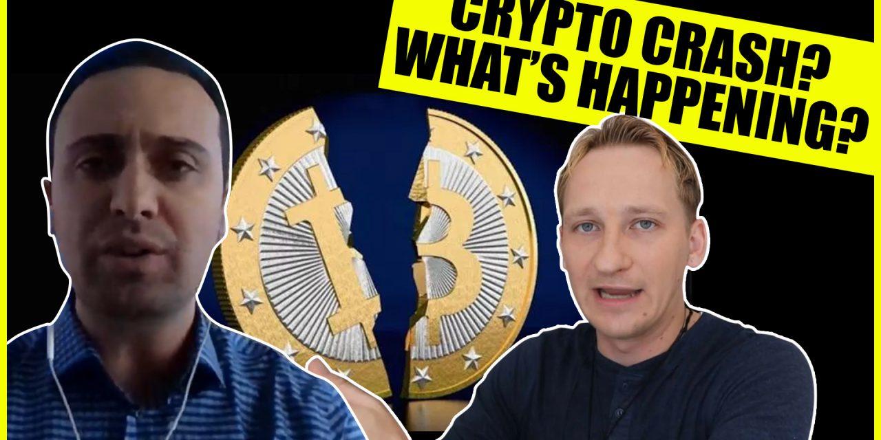 The Crazy DOW Bitcoin Crypto Crash!