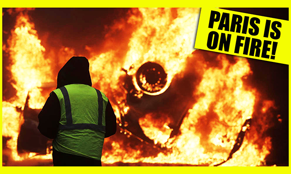 WRC Cast 26 – Paris Is On Fire! The Truth About The Yellow Jackets Movement.