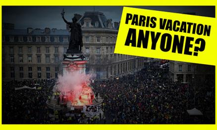 Come Visit Paris For A Lovely Winter Vacation They Said