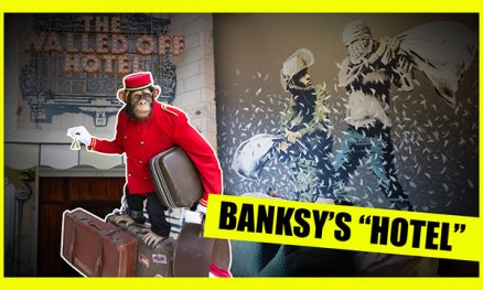 I Spent The Night In The Banksy Hotel And It Was AMAZING!