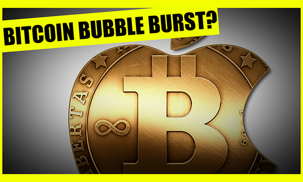 Is The Bitcoin Bubble Bursting?