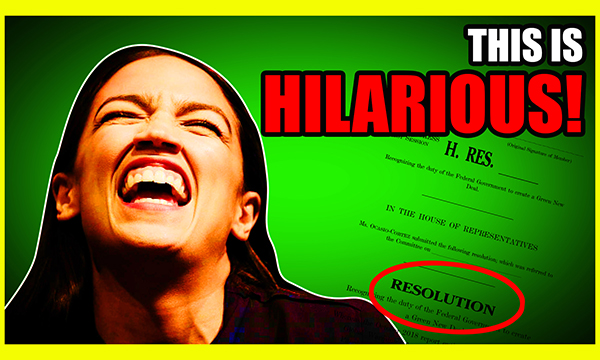 You Won't Believe What We Found In Ocasio-Cortez's Green New Deal!