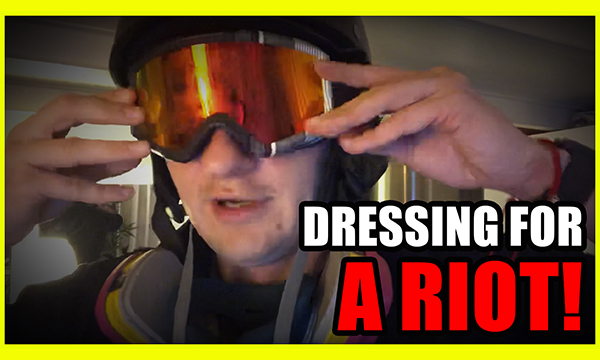 Behind The Scenes How To Dress For A Riot