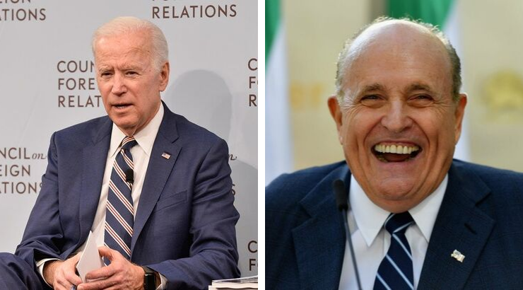 Biden Campaign Demands TV Networks Stop Allowing Rudy Giuliani on Air