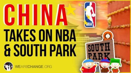 The Real Reason China is Censoring South Park and the NBA