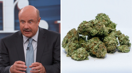 Dr. Phil Says Smoking Weed Makes You Violent and Lowers Your IQ