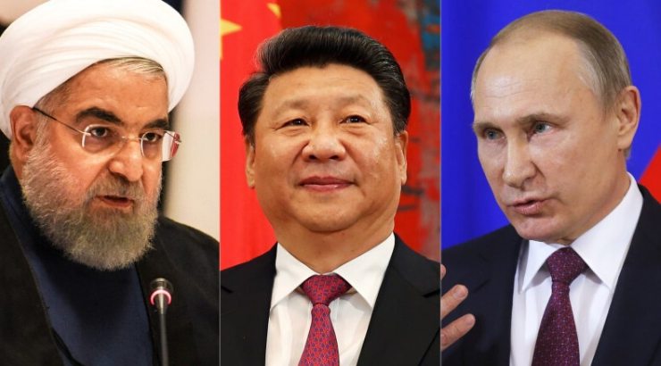 "Iran, China, and Russia to Send Chilling ""Message to the World"" in Unprecedented War Games"