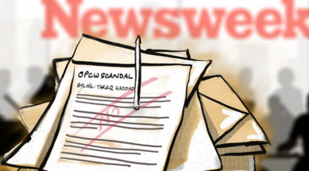 Newsweek Reporter Resigns After Accusing Outlet of Suppressing OPCW Leak Story