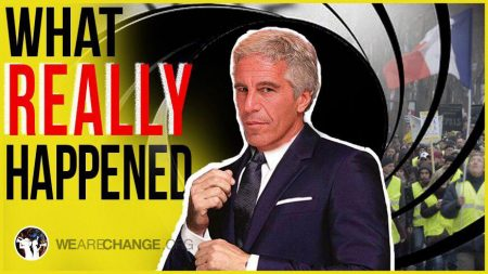 Epstein Was Running Elite Blackmail Operation, French Police Are Shooting People at Protests