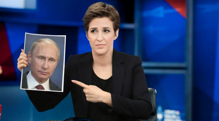 Rachel Maddow Called Out by WaPo Columnist for Peddling Fake News