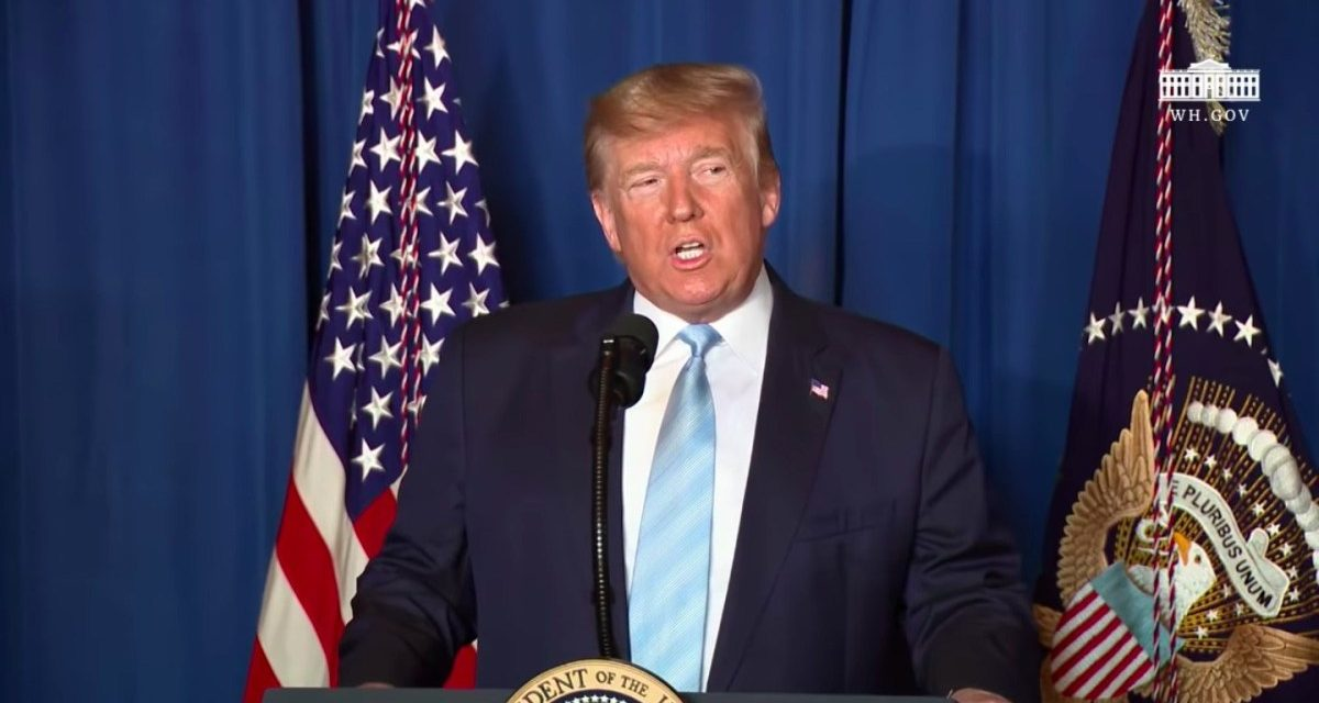 """""""We Do Not Seek War,"""" Says President Who Just Started a War"""